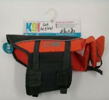 K9 Pursuits 7-14kg Dog Life Jacket, High Visibility. Easy Grab Float Coat - BNWT