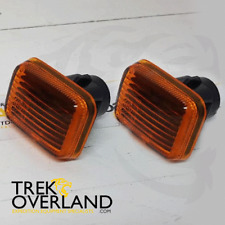 2 x Land Rover Defender Discovery 1 RRC Side Indicator Repeaters Amber - PRC9916