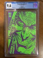 "Batman: Three Jokers #1 Cover ""B"" CGC 9.6 (DC 2020) - White Pages - 1:25 Variant"