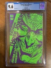 """Batman: Three Jokers #1 Cover """"B"""" CGC 9.6 (DC 2020) - White Pages - 1:25 Variant"""