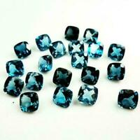 Details about  /Lovely Lot Natural LONDON BLUE TOPAZ 3x5 mm PEAR Cut Faceted Loose Gemstone