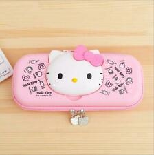 Cute Hello Kitty Pencil Pen Box Case Stationery Pouch Girls Gift School Study