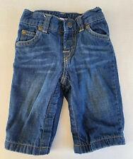 BabyGap Gap Infant Boy Denim Cotton Lined Jeans 6-12 Months Blue