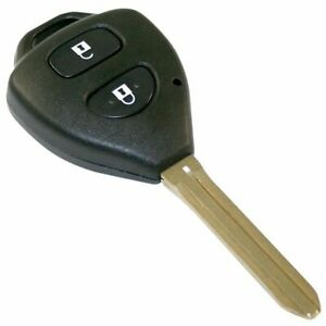 MAP Car Remote Shell & Buttons (2 Button) fits Toyota KF331