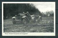 Foto AK - 2. Weltkrieg - Wehrmacht - Panzer Abwehr-Kompanie - echt gelaufen
