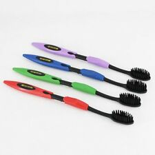 4 PCS NANO black bamboo charcoal toothbrush protection to clean your teeth P342