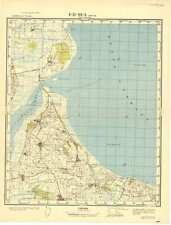 Russian Soviet Military Topographic Maps - ORSTED (Denmark), 1:50 000, ed. 1961