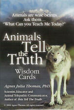 Animals Tell The Truth Wisdom Cards Pet Animal Psychic