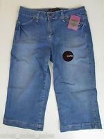 Gloria Vanderbilt Women Jeans Capri Size 6 Stretch