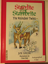 Starrlite Starrbrite The Reindeer Twins Joe Salik Autographed copy