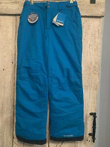 Mens Blue Columbia Ski Pants, Size Medium, New with Tags