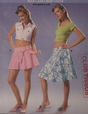 Burda-8176 Skirt Sewing Pattern Size 8 to Plus Size 20 Uncut