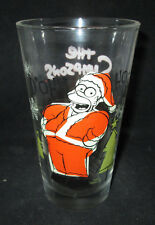 The Simpsons Homer D'OH-HO-HO Christmas 16 oz Drinking Glass