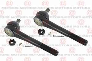 Front Left Right Outer Tie Rod End For 1987-1991 Chevrolet Blazer ES2026R 2 Pcs