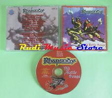 CD RHAPSODY Old battle songs 2001 EPICUS EPIC 01 (Xs3) no lp mc dvd