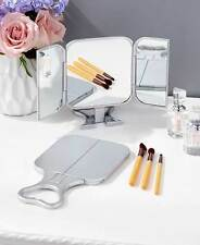 The Lakeside Collection Set of 2 Three-Way Make Up Mirrors