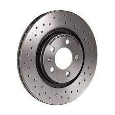 Brembo Xtra Performance Drilled Rear Brake Discs - Pair - 08.7165.1X