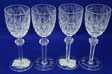 """Crystal Clear Ind. Celine Set of (4) Cordial Glasses  6"""" Tall"""