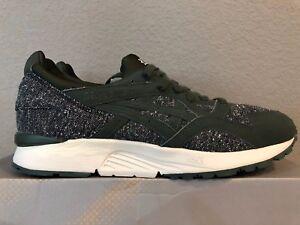 Asics x Sneakersnstuff Gel Lyte V Dark Green Tailor Pack H42VQ 8080 size 10.5