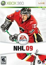 XBOX 360 NHL 09 Video Game Hockey Tournament Action 1080p HD Multiplayer 2009