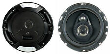 """NEW (2) 6.5"""" 3-way Car Audio Speakers.4 ohm Stereo Pair.OEM Door.w/ grill covers"""