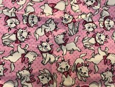 Disney Aristracat Marie Cotton Fabric 1/2 Yard
