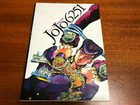 JoJo's Bizarre Adventure Art Book JOJO 6251 with Poster HIROHIKO ARAKI USED