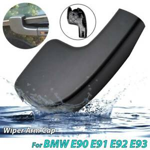 Car Front Windshield Wiper Arm Head Nut Cover Cap Bolt For BMW 3 E90 E91 E92 E93