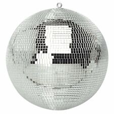More details for genuine soundlab lightweight silver mirror dance disco party dj ball (250mm 10