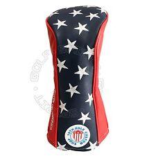19th Hole Custom Shop US Flag Star Stripes Driver Head cover, 460cc