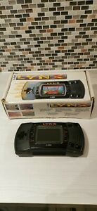 Atari Lynx Vintage Console - with 4 games