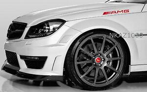 AMG Mercedes Benz Vinyl Decal Sport Racing car sticker emblem logo RED