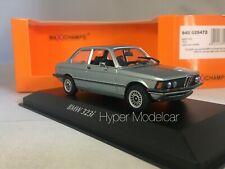 MINICHAMPS 1/43 BMW 323I SALOON (E21) 1975 Light Blue Met. ART. 940025472