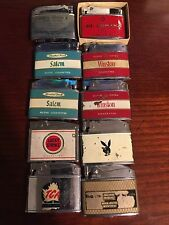 Lot Of 10 Billboard Lighters Good Condition See Photos