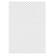 Efco Embossing Folder punkte Dots Prägeschablone 4254036
