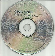 CRAIG SMITH Echoes of innocence RADIO IDs & INTERVIEW 25 MINUTES PROMO CD Single