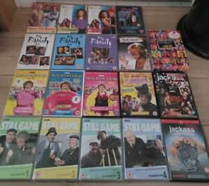 Comedy Dvd, Boxset Bundle 'still game, my family, two pints of lager etc'