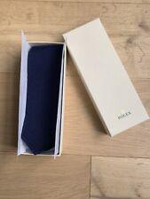 BNIB Rolex Blue 100% Silk Tie