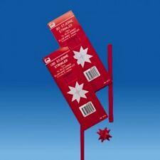 Scandinavian Swedish Danish Kit to make Paper Star Decorations #5717 Red