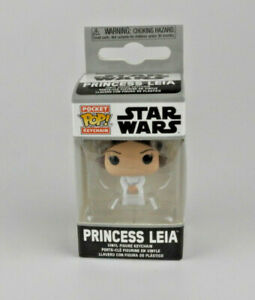 Funko  Princess Leia Pocket Pop Keychain Star Wars Vinyl Figure Keychain #53050