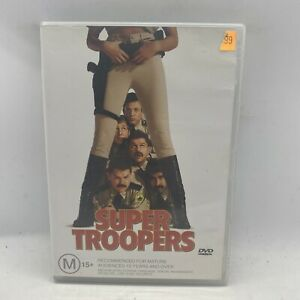 Super Troopers (DVD) Comedy  R4 Free Postage AU Seller