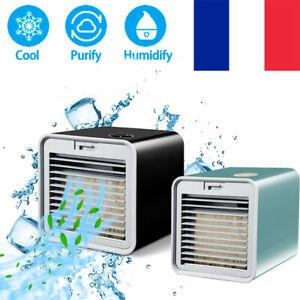 Mini ventilateur refroidisseur rafraichisseur Refroidisseur d'air  3 in 1 USB