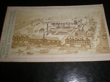 Cdv photograph engraving Champions vinegar Old Street London c1870s ref 38(1)