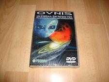 OVNIS UN ENIGMA SIN RESOLVER DE FINSON S.P.A. DOCUMENTAL EN DVD NUEVO PRECINTADO