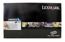 NEW GENUINE SEALED LEXMARK 24B5832 TONER CARTRIDGE XS796 CYAN