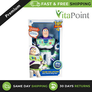 Toy Story 4 Talking Plush High Flying Buzz Lightyear Toy For 3+ Years Kids