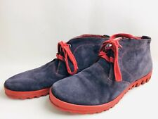 Think Damen Stiefel Stiefeletten Ankle Boots Comfortschuhe Lila Gr. 41 (UK7)