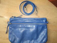 Nat & Nin - Pochette Vicky grand modèle cuir bleu électrique