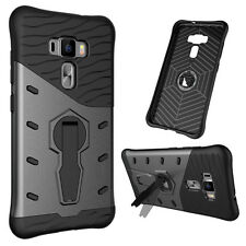 NEW For Asus Zenfone 3 / Zenfone 3 Deluxe Case,Hard Armor Stand Shockproof Cover