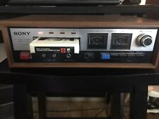 Vintage Sony 8 Track Stereo Tapecorder Tc-228 See Details